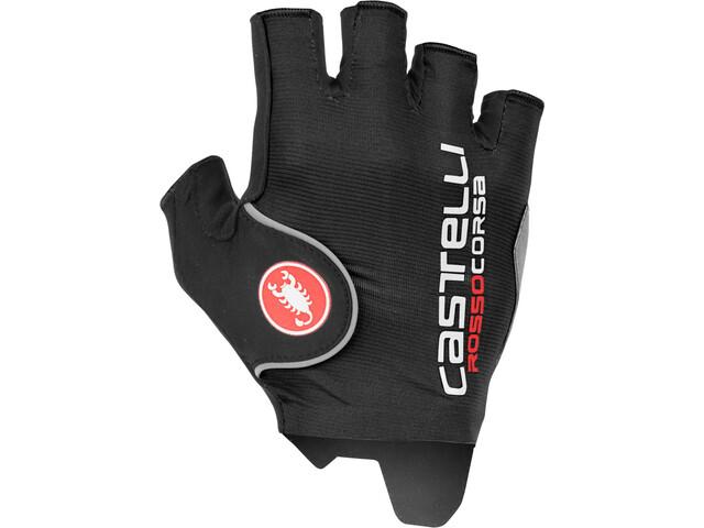 Castelli Rosso Corsa Pro Cykelhandsker Herrer, black